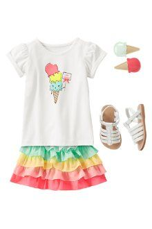 Rainbow Treat #icecream #Gymboree Find the Affiliate Program Here: http://www.shareasale.com/shareasale.cfm?merchantID=46239