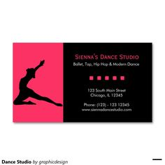 Sold #Dance Studio #BusinessCards #yoga Available in different products. Check more at www.zazzle.com/graphicdesign