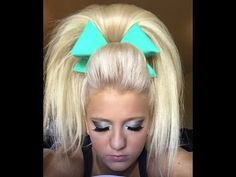 cool anime hairstyles : 1000+ images about Cheer Hair & Makeup on Pinterest Cheer Hair ...