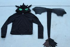 how to make a dragon costume | How to Train Your Dragon Toothless Costume