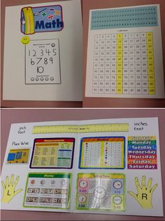 Mini Math Office/Student Folder