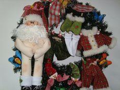 Guirlanda Papai Noel secando roupa | Flickr - Photo Sharing!