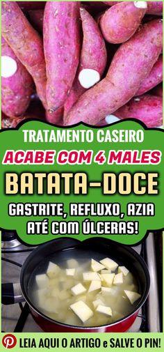 Os 40 Benefícios da Batata Doce Para Saúde  #batatadoce #batata #batatadoceparagastrite #batatadocepararefluxo #batatadoceparaazia #batatadoceparaúlceras #gastrire #refluxo #azia #úlcera #beneficiosdabatatadoce #benefíciodabatatadoce #batatadocebenefício #batatadoceparaasáude #mulher #beleza #remediocaseiro #natural #nutrição #alimentação #receitas #receitacaseira #receitasrapidas #tratamentocaseiro #health #healthyrecipes #remediosnaturales #remedioscaseros #dicasdesaude #bemestar #saúde Beef, Vegetables, Health, Recipes, Food, Sweet Potato Benefits, Fruit Benefits, Recipes With Sweet Potatoes, Heartburn