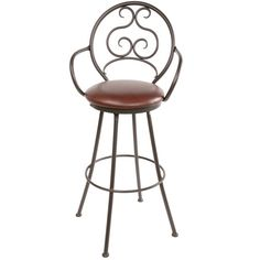 IShipping, within the continental US is included in the price.  Customers in Alaska & Hawaii will be contacted with additional shipping rates. IBRBRThis classic iron bar or counter stool feat...