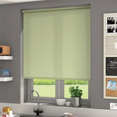 Pastel shades are so delicate they an make even the smallest room seem light and airy and this Valencia Soft Green roller blind is certainly no exception. Window Coverings, Window Treatments, Blinds Online, Pastel Shades, New Home Designs, Curtains With Blinds, Home Furnishings, Marble