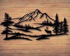 Wood Burning Crafts, Wood Burning Patterns, Wood Burning Art, Metal Tree Wall Art, Metal Art, Wood Art, Wall Wood, Wood Burn Designs, Custom Metal Signs