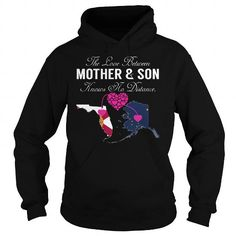 The Love Between Mother and Son Knows No Distance - Florida AlaskaLIMITED TIME ONLY. ORDER NOW if you like, Item Not Sold Anywhere Else. Amazing for you or gift for your family members and your friends. Thank you! #mom #mommy #mama #mother