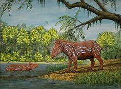 Miotapirus Alien Creatures, Prehistoric Creatures, Dinosaur Era, Extinct Animals, Ice Age, Crazy Lace Agate, Fossils, Dinosaurs, Civilization