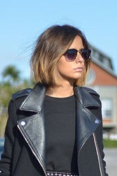 straight ombre bob hair - Google Search