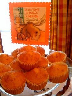 Moose Muffins - Book party idea