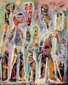 ' Dum Spiro Spero ' Mixed media on board by Jeff Roland 2016 Cobra Art, Outsider Art, Naive, Insta Art, Surrealism, Illustrators, Contemporary Art, The Outsiders, Finding Yourself