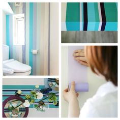 masking tape washi tape for your walls