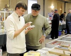 Sports Card and Memorabilia Show draws distant crowd