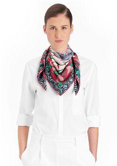 90 x 90 cm scarf Hermès | La Marche du Zambèze