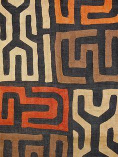 Kuba Cloth Ceremonial Skirt/Panel Raffia by EthosEthnicArt on Etsy textile art, Kuba Cloth Ceremonial Skirt/Panel Raffia Applique Textile Currency African African Textiles, African Fabric, African Prints, African Patterns, African Colors, Textile Patterns, Textile Art, Tribal Patterns, Art Texture
