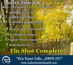 The CDC is already preparing for the Flu season shots, which is always proven ineffective year after year. Why not start preparing yourself NOW by strengthening your immune system naturally? Here's a list of my yearly Flu Shot Check List! Easy Weight Loss, Healthy Weight Loss, Reduce Weight, How To Lose Weight Fast, Ways To Burn Fat, Walking In Nature, Get In Shape, Health And Nutrition, The Cure