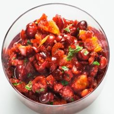 Cranberry-Orange Relish with Mint 4 ( 69 votes) Your rating: none