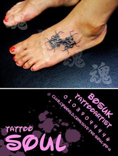 Tattoo soul shop artist bosuk
