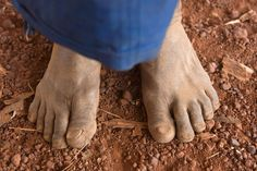 14 Dirty Photos That Show Why Soil Matters Picture of a person standing on soil