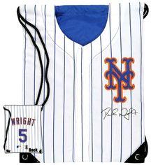 New York Mets - David Wright Jersey Mesh Backsack