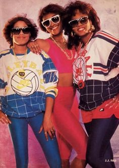"J.J. Fad (which stood for ""Just, Jammin', Fresh And Def""), rap group consisting of MC J.B. (Juana Burns) Baby D (Dania Birks) and Sassy C (Michelle Franklin). The group name came from the first names of the original 6-person group. The trio was the 1st female rap group to earn a Grammy nod and have a platinum record. Their singles include Supersonic, Way Out, & Is It Love. The song Supersonic is ranked on VH1's 100 Greatest One-Hit wonders of the '80s, & was used on Fergie's hit…"