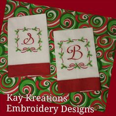 Check out this item in my Etsy shop https://www.etsy.com/listing/172380303/christmas-linen-kitchen-towel-with-red