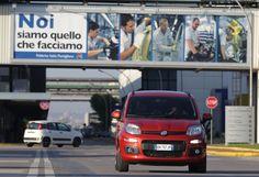Nowy Fiat Panda w fabryce w Pomigliano