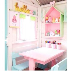 Playhouse in pastels  #cherishmadehope