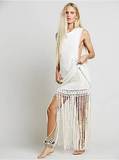 Free People La Luna Maxi Skirt, $188.00