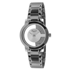 Kenneth Cole Female Transparent Watch  KC4924 Silver Analog                 Sale price. $69.95