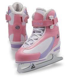 Jackson Ultima Glacier GS351 White Kids Ice Skates