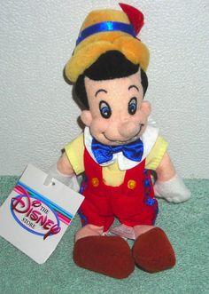 Pinóquio Pelúcia Nova Disney Store Raro Pinocchio Pinóchio - R$ 129,99 no MercadoLivre
