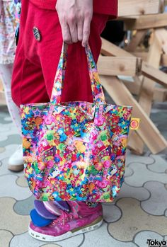 6%DOKIDOKI tote bag -  Japanese fashion