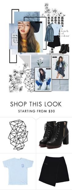 """""""Jennie"""" by jina-7 on Polyvore featuring WALL, MARC CAIN, Madewell, kpop, BlackPink and jennie"""