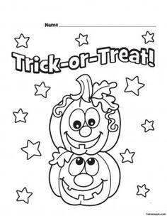Halloween Pumpkins Printable coloring pages
