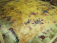 Antique Art Deco Chinese Rug WOW | eBay