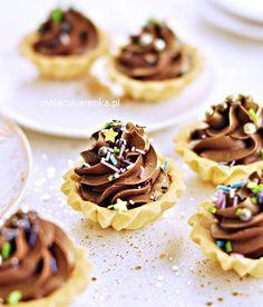 Sweet Recipes, Cake Recipes, Dessert Recipes, Carnitas Recipe, Cheese Tarts, Mini Tart, Polish Recipes, Pastry Cake, Pasta