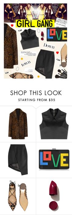 """Yay! It's Galentine's Day"" by edenslove ❤ liked on Polyvore featuring rag & bone, McQ by Alexander McQueen, Thierry Mugler, Les Petits Joueurs, Salvatore Ferragamo, NARS Cosmetics, Jenny Patinkin, women's clothing, women and female"