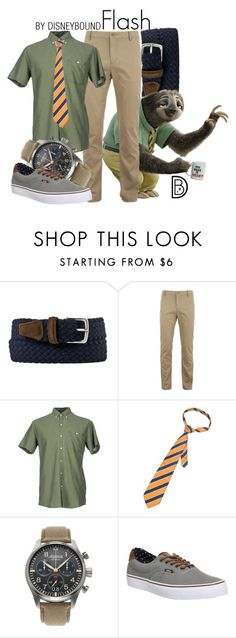 """""""Flash"""" by leslieakay ❤ liked on Polyvore featuring Al Duca d'Aosta, Lacoste, Prim I Am, Alpina, Vans, men's fashion, menswear, disney, disneybound and zootopia"""