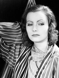 Greta Garbo, the White Queen