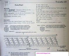 porta papel hig. | Receitas do Croche Croche!