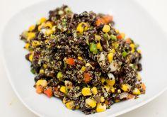 Bønnesalat med quinoa