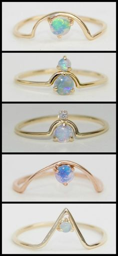 WWAKE's gold and opal ring w/ diamonds. Originally purchased as a 'push gift' (opal for october and diamonds for April) - i recently found it again- and use it as a meditative piece. Opal is an energizing stone and i love it. Cute Jewelry, Jewelry Box, Jewelry Rings, Jewelry Accessories, Jewelry Design, Jewelry Making, Bullet Jewelry, Jewlery, Opal Jewelry
