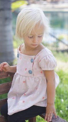 Gorgeous Junebug dress by Caila Made // pattern by craftiness is not optional // nani IRO colorful pocho