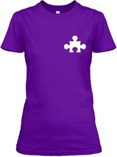 Discover Autism Hero T Shirts And Hoodies T-Shirt, a custom product made just for you by Teespring. Living With Autism, Hero, Hoodies, My Style, Brain Food, Mens Tops, T Shirt, How To Wear, Projects