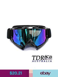 28bacdb843 Snow Goggles Motorcycle Motocross Atv Dirt Bike Off Road Racing Ski Goggles  Glasses Tinted