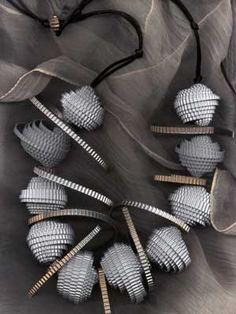 Angela Simone paper necklace