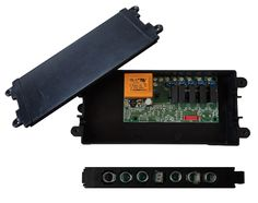 Electronic control system for hoods with capacitive keyboard FEGR030