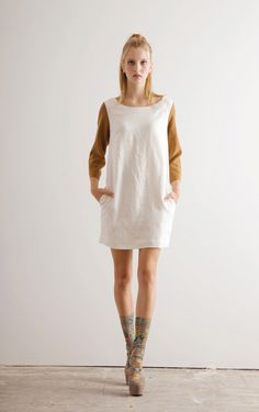 Orange sleeves love  Dace S/S 2013 : Honey Kennedy
