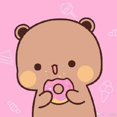 Cartoon Stickers, Cute Beauty, Panda Bear, Aesthetic Anime, Chibi, Hello Kitty, Kawaii, Cats, Drawings